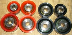Pistons/Bonded Polyurethane Pistons/Pistons with Replacement Rubbers/Duro Pistons/ Double Action Pistons for Drilling Triplex Mud Pump/Duplex Mud Pump etc pictures & photos