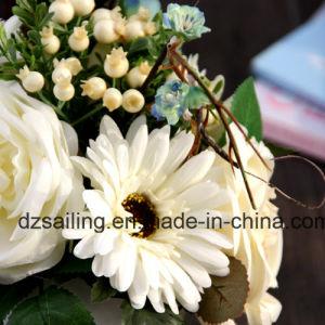 Gerbera & Rose Combination Bouquet Artificail Flower (SF15471) pictures & photos