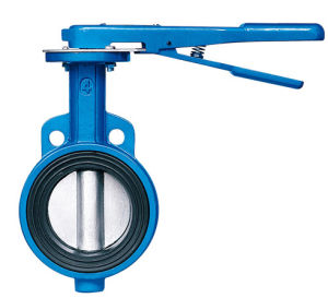Sell Manual Wafer Type Butterfly Valve