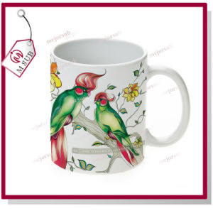 11oz Blank Sublimation Porcelain Mug with Printed Design pictures & photos