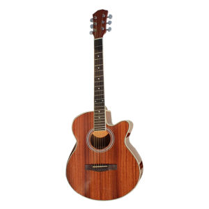 "40"" High Quality Sapele Cutaway Acoustic Guitar pictures & photos"