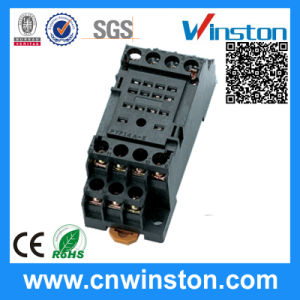 General Purpoe Mini PCB Automatic Plastic Solid State Relay Socket pictures & photos