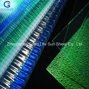 Recycled Polycarbonate Hollow Sheet for Greenhouse Roofing Cover pictures & photos