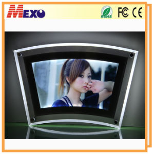 Cheap Picture Frame LED Light Box Acrylic Poster Frame pictures & photos