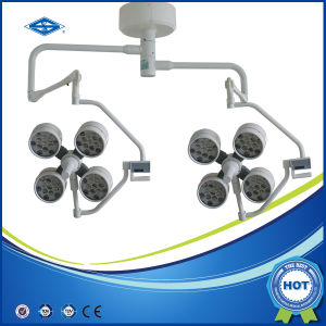 LED Shadowless Surgical Operation Light on Ceiling (YD02-4+4) pictures & photos