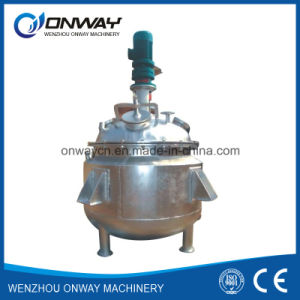 Fj Stainless Steel Steel Stirred Tank Chemical Reactor Prices with Agitator System pictures & photos