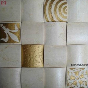Handmade Marble Stone Masaic in Royal Style (MS3208-F3B) pictures & photos