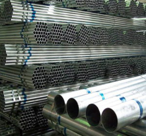 Galvanized Steel Pipe /BS1387 Gi Pipe 1/2′′ 3/4′′ pictures & photos