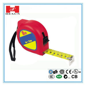 High Quality Rubber-Covered Self-Lock Measuring Tape China Supplier pictures & photos