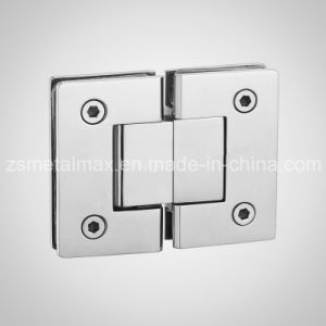 Brass 180 Degree Glass Clamp Shower Door Hinge (YH105) pictures & photos