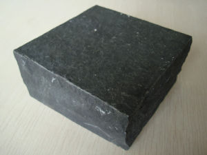 Zp Black Granite Paving/Cobble Stone for Outdoor Pavement pictures & photos