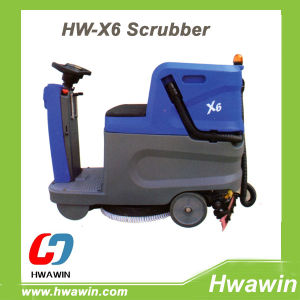 Compact Electric Ride on Floor Scrubber pictures & photos