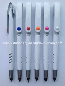 White Cheap Plastic Printing Touch Pen pictures & photos