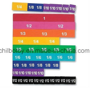 Fraction Tiles Set with Tray for Educational Toy (CB-ED005-Y) pictures & photos