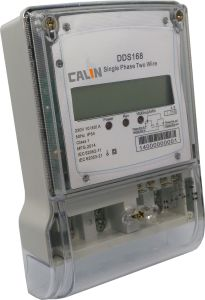 Single Phase LCD Diplay Electric Energy Meter pictures & photos