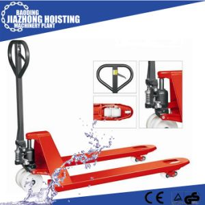 Hydraulic Hand Heavy Duty Pallet Jack 5ton pictures & photos
