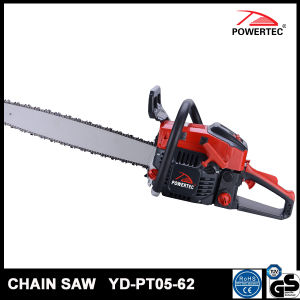 Powertec CE GS Easy Start 62cc Gasoline Chain Saw (YD-PT05-62) pictures & photos