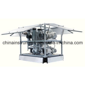 Vacuum Air Pumping Unit of Waste Oil/Used Oil Recycling Machine pictures & photos