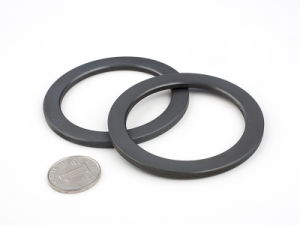 Black Ceramic Ring Ferrite Speaker Magnets pictures & photos