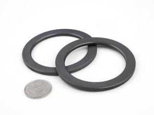 Black Ceramic Ring Ferrite Speaker Magnets