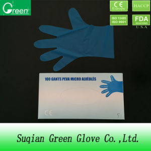 Transparent TPE Gloves/Elastic Gloves/Alternative of Vinyl Glove pictures & photos