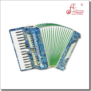 Professional Music 34 Key 72 Bass Piano Accordion pictures & photos