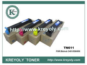 Compatible Color Toner Cartridge for Konica-Minolta TN-611 pictures & photos