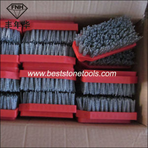 Abrasive Carbide Brush with Circle Frankfurt Fickert Polishing Antique Stone pictures & photos