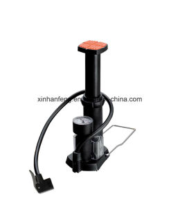 Single Cylinder Mini Bicycle Foot Pump for Bike (HPM-022) pictures & photos