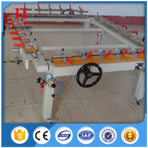 Good Quality and Low Price Chain Wheel Screen Stretching Machine pictures & photos