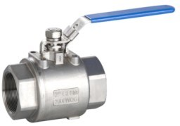 2000 Wog 2PC Full Port Stainless Steel Ball Valve