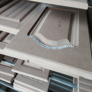 Mordern Design PVC MDF Kitchen Cabinet pictures & photos