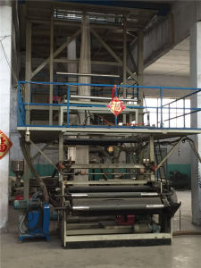 Used 3-Layer Co-Extrusion Haul-off Rotary Film Production Line pictures & photos