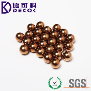Conductive Solid Copper Ball in Stock pictures & photos