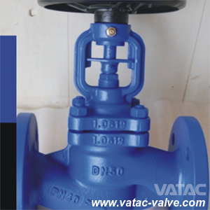 Cast Iron Bellow Sealed Globe Valve with RF Flange pictures & photos