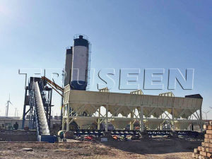 China Zhengzhou Hold 60m3 Concrete Batching Plant pictures & photos