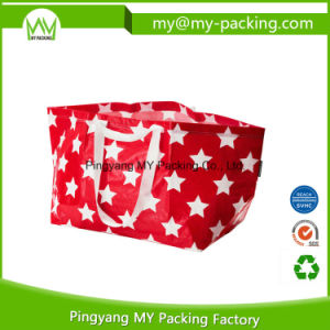Easy Packaging PP Woven Shopping Bag with Handle pictures & photos