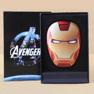 8000 mAh The Avengers Power Bank with Long-Term Working Life