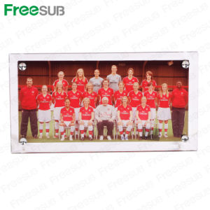Freesub High Quality Sublimation Glass Photo Frame (BL-12) pictures & photos