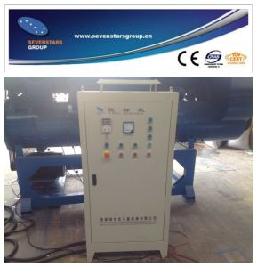 Three Shaft Label Removing Machine for Plastic Bottles pictures & photos