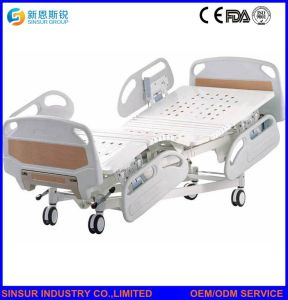 Hospital Furniture Luxury ICU Nursing Multi-Functional Electric Medical Hospital Bed pictures & photos