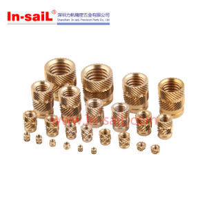 Brass Knurled Threaded Insert Nut for China Manufacturer pictures & photos