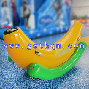Customize Water Park Inflatable Banana Boat/High Quality Fun Water Sport Inflatable Flying Bananas pictures & photos