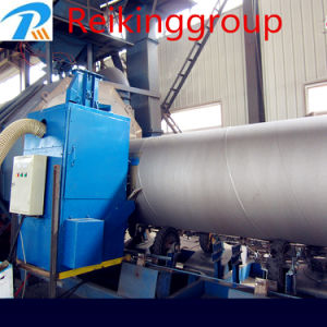 High Quality Durable Steel Pipe Outer Wall Shot Blasting Machine pictures & photos