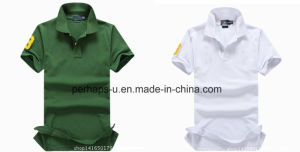 Fashion Mens Cotton Pique Golf Polo Shirt pictures & photos