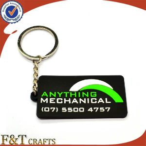 Custom Cheap Shaped Colorful Logo Soft PVC Keychain pictures & photos