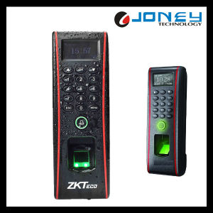 Zk Access Control Waterproof Standalone Fingerprint Access Control Reader (TF1700) pictures & photos