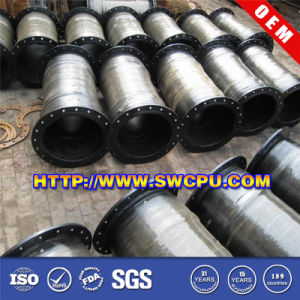 Polishing Rubber Flange Dredger Oil Hose (SWCPU-R-H357) pictures & photos
