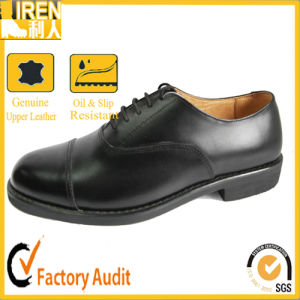 Genuine Cow Leather Mens Army Footwear Military Office Shoes pictures & photos