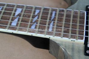 Hanhai Music / Gray Sg Style Electric Guitar with Flame Maple Veneer pictures & photos
